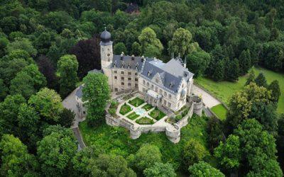 Quastenflosser visiting Castle Callenberg